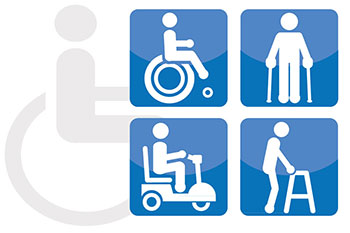 Disabled facilities at Murcia airport
