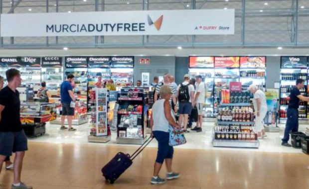 Shops at Murcia airport